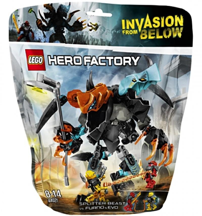 Конструктор Lego Зверь-рассекатель против Фурно и Эво