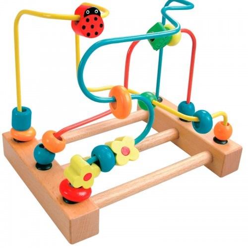 Детская игрушка-лабиринт с бусинками