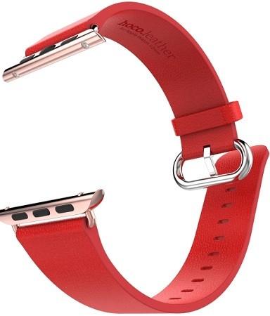 Кожаный ремешок HOCO Art Series Pago для Apple Watch