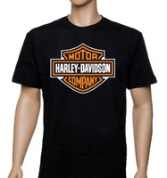 Футболка Harley-Davidson, шелкография