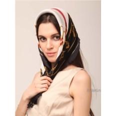 Бело-черный женский палантин Gianfranco Ferre