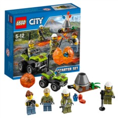 Конструктор Lego City Исследователи Вулканов