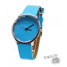 Голубые наручные часы Бриз