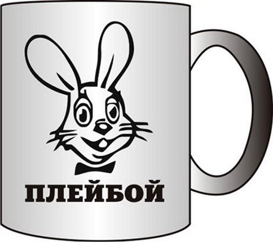 Прикольная кружка ПЛЕЙБОЙ