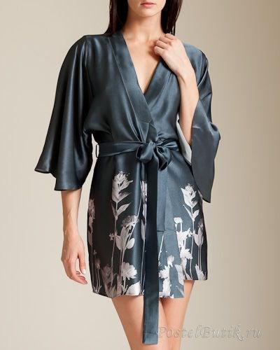 Элитный шелковый халат Geisha от Fleur of England