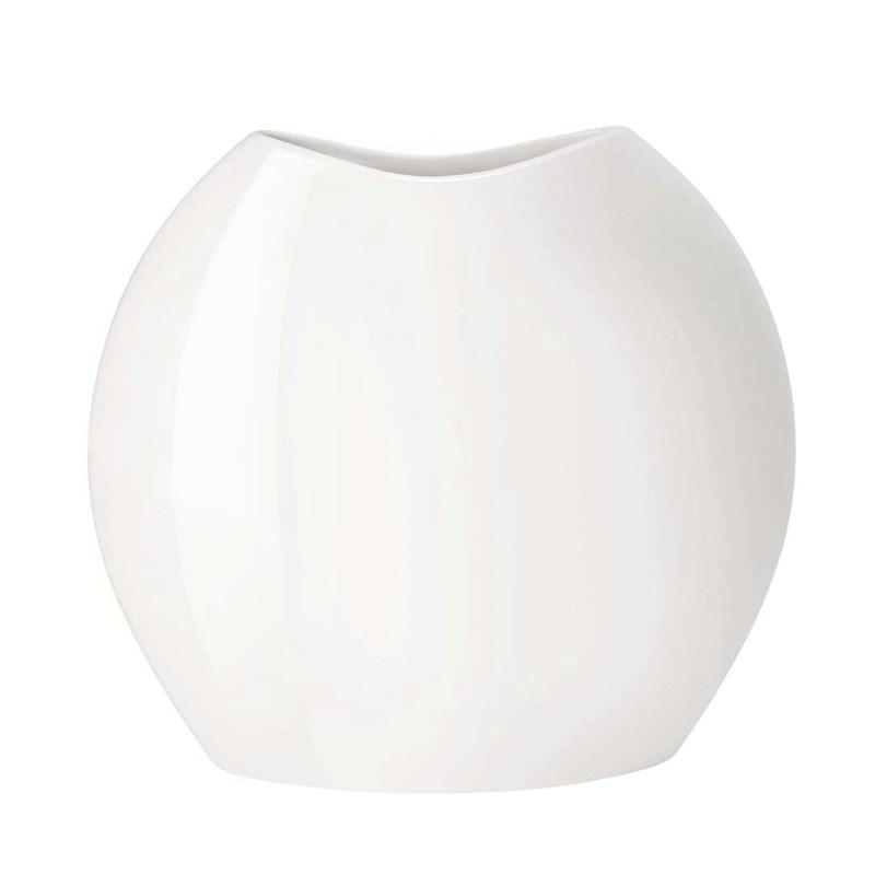 Белая ваза Moon