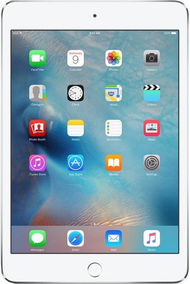 Apple iPad mini 4 16gb Wi-Fi (цвет Белый/Silver)