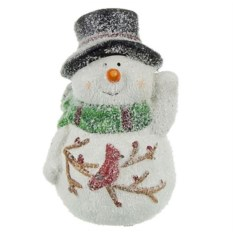 Фигурка Снеговик в шляпе (6,5 см)