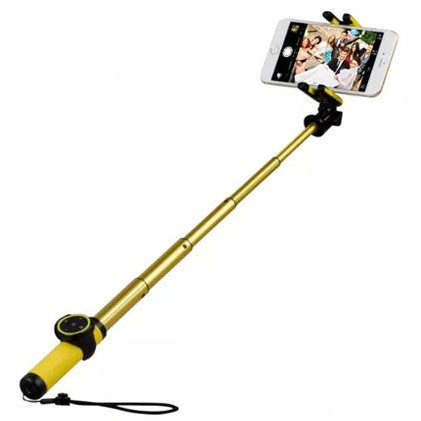 Селфи-монопод + штатив MOMAX Hero Selfie Pod 50cm KMS5 Gold