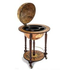 Напольный глобус-бар с картой мира Da Vinci