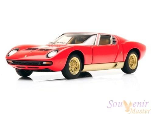 Модель автомобиля  Lamborghini Miura SV 1971 Red