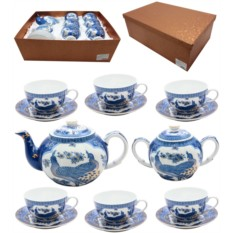 Чайный сервиз Синий павлин