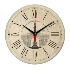 Круглые часы Санкт-Петербург. Александровская колонна
