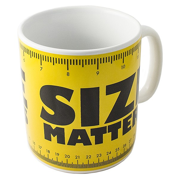 Кружка-гигант Размер имеет значение
