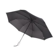 Автоматический зонт-антиветер Unit Fiber черного цвета