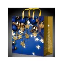Новогодний пакет со звездочками