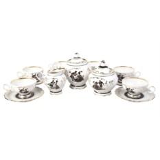 Чайный сервиз на 6 персон «Дворянское гнездо»