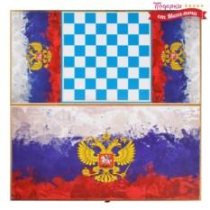 Нарды и шашки Герб России