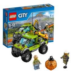 Конструктор Lego City Грузовик Исследователей Вулканов