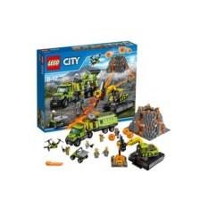 Конструктор Lego City База исследователей вулканов