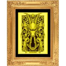 Картина из золота Козерог