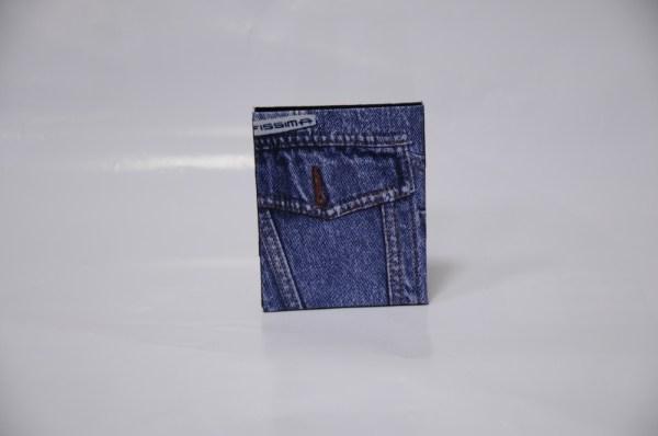 Кошелек самоупаковывающий деньги Кошеленок(Jeans)