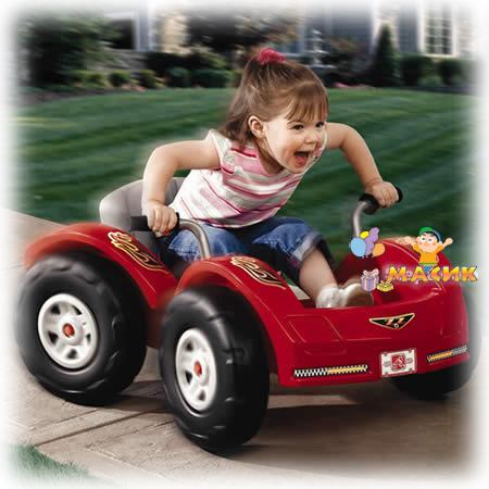Машина Веселый гонщик
