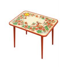 Детский стол с Хохломской росписью Детство