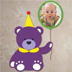 Детская фоторамка Мишка с шариком