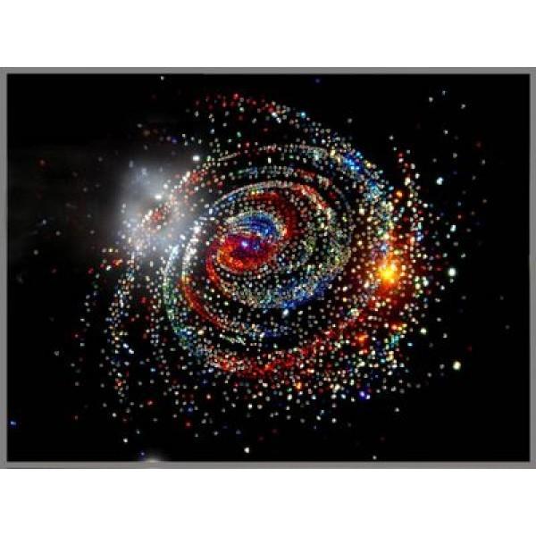 Картина Swarovski Галактика