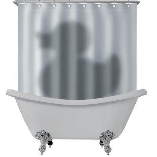 Занавеска для ваны Тень