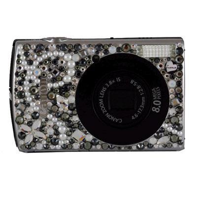 Фотоаппарат Canon ixus 860 IS black со стразами