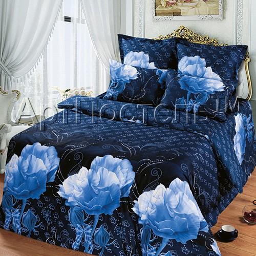 Комплект постельного белья Хрустальная роза (евростандарт)