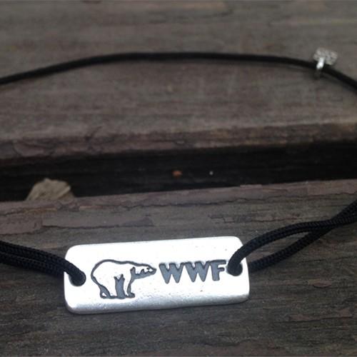 Браслет WWF «Белый медведь»