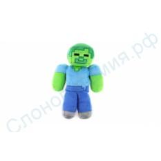 Мягкая игрушка Зомби Стив Майнкрафт
