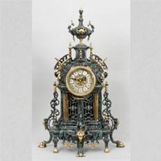 Часы  настольные из бронзы «Экстра класс» Virtus
