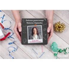 Фотонабор конфет ручной работы «Школьному учителю»