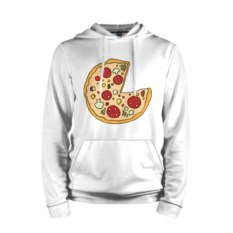 Мужская толстовка Пицца