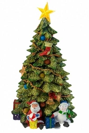 Светящееся декоративное украшение Новогодняя елка