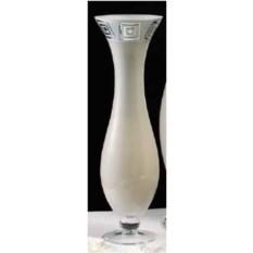 Стеклянная ваза White Dea