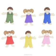 Пуговицы декоративные Dress It Up Детский, 6 шт.