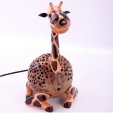 Светильник из кокоса Жираф