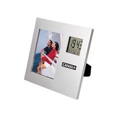 Рамка для фотографии с часами