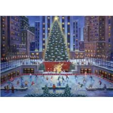 Пазл Ravensburger Рождество в Нью-Йорке, 1000 элементов