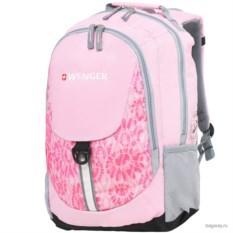 Розовый рюкзак Wenger School