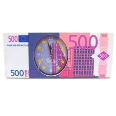 Часы пластиковые на батарейках «Евро»