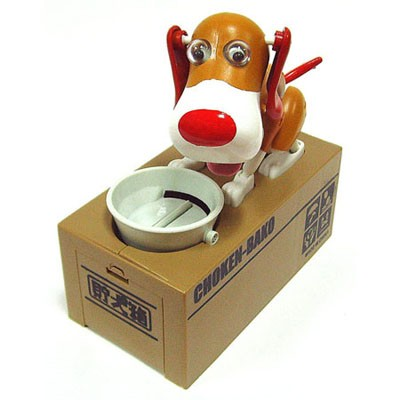 Копилка «Голодный пёс» (Choken-Bako)