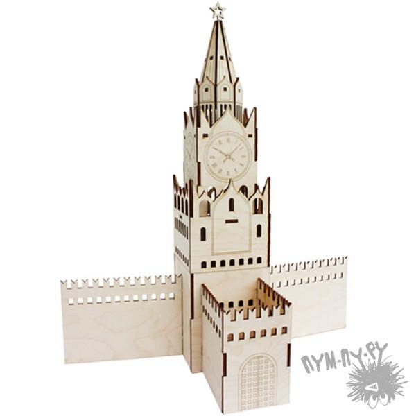 Развивающий конструктор «Спасская башня»