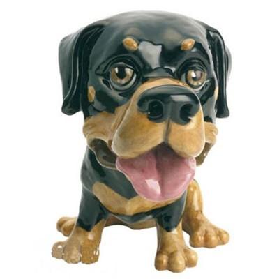 Фарфоровая фигурка собачки Rocky