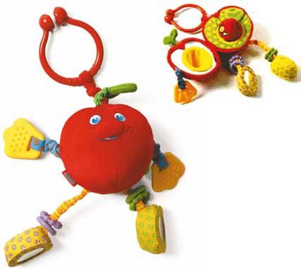 Погремушка мягкая «Яблочко»